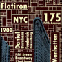 Flatiron Building NYC New York silk screen print artwork by Charlie Barton