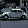 Hampden VW Beetle Baltimore MD silk screen print artwork by Charlie Barton