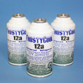 "FrostyCool 12a Refrigerant ""18 oz Equivalent"" - 3x cans Replacement for R134a"