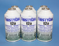 "FrostyCool 12a Refrigerant ""18 oz Equivalent"" - 6x cans Replacement for R134a"