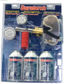 Duratorch Deluxe Torch Kit - Head & 3 Cans of Fuel
