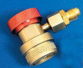 Includes FC2R-134a High-Side Adjustable Quick Disconnect with adapter - For use with R-12 or R-134a Hoses