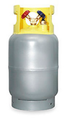New Recovery Cylinder with  80%  Fill  Foat Switch