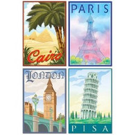 International Travel Cutouts