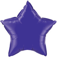 Star Perfect Purple Solid Colour Foil Balloon
