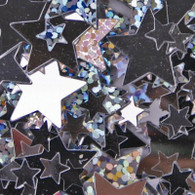 Stars Scatters Silver | Artwrap