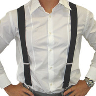 Dr Tom's Suspenders Black