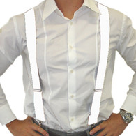 Dr Tom's Suspenders White