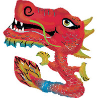 Anagram Chinese Dragon Foil Supershape Balloon