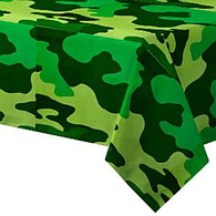 Camouflage Party Paper Tablecover