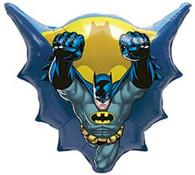 Foil SuperShape Batman Flying Balloon | Anagram