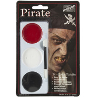 "Mehron ""Pirate"" Tri Color Face Paint Make up"