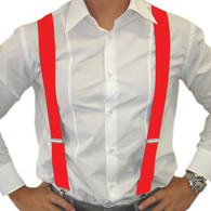 Dr Tom's Suspenders Red