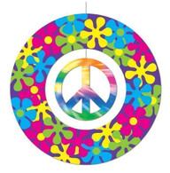60's Peace Sign Hanging Mobile