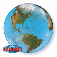 Bubble Planet Earth World Balloon | Qualatex