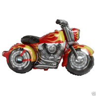 Foil Supershape Firebranded Motorcycle Balloon | CTI Industries