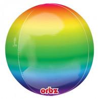 Orbz Rainbow Foil Balloon   Anagram