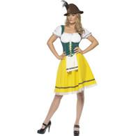 Oktoberfest Bavarian Maid Ladies Dress   Smiffy's