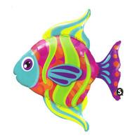 Foil Supershape Bright Angel Fish Balloon | Qualatex