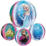 Orbz Frozen Anna & Elsa Castle Foil Balloon   Anagram