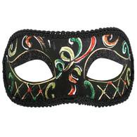 Dr Tom's Casablaca Green & Orange Eye Mask
