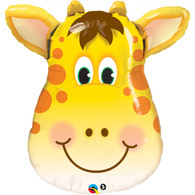Foil Supershape Jolly Giraffe Balloon | Qualatex