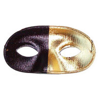 Black & Gold Zorro Mask