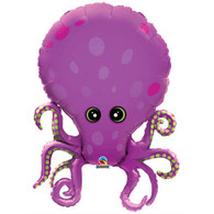 Foil Supershape Amazing Octopus Balloon | Qualatex