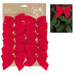 Christmas Bows - Red