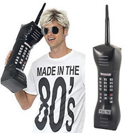 80's Inflatable Retro Mobile Phone | Smiffy's