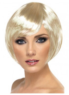 Babe Short Bob Blonde Wig | Smiffy's