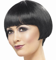 20's Flapper Bob Black Wig | Smiffy's