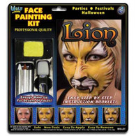 Face Painting Kit 'Lion' | Wolf Novelties