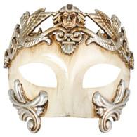 Antonio Roman Platinum & Ivory Mask