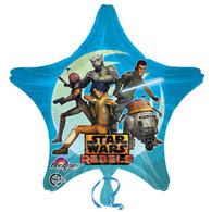 Foil Supershape Star Wars Rebels Star Balloon   Anagram