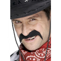 Cowboy Black Tash | Smiffy's
