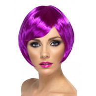 Babe Neon Purple Wig | Smiffy's