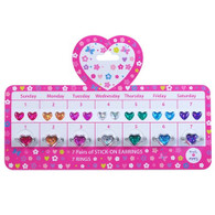 Girls 7 day Earrings & Rings Pack