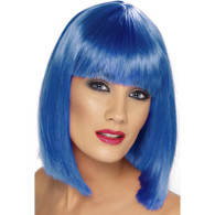 Glam Blue Wig | Smiffy's