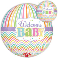Orbz Welcome Baby Foil Balloon | Anagram