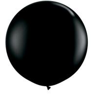 Latex Round 90cm Fashion Black Balloon | Qualatex