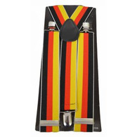 German Flag Colour Suspenders