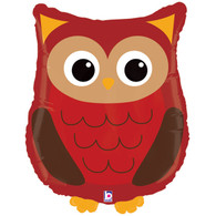 Foil Supershape Woodland Owl Balloon | Betallic