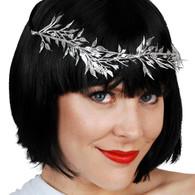 Dr Tom's Silver Vine Leaf Headband
