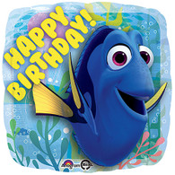 Pixar Finding Dory Happy Birthday Foil Balloon