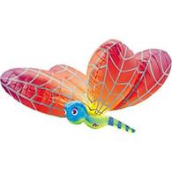 Foil Supershape Dragonfly Rainbow Balloon | Anagram