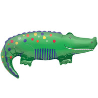 Foil Supershape Crocodile Cutie Balloon | North Star Balloons