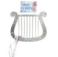 Dr Tom's Novelty Silver Angel Harp