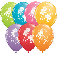 Latex Printed 30cm Circus Parade Balloons | Qualatex