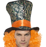 Smiffy's Mad Hatter Soft Top Hat